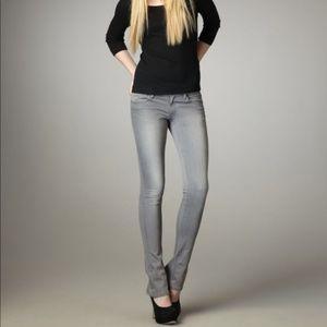 Joe's Jeans Grey Micro Flare Skinny Jeans D55